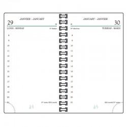 Recharge TS12R agenda AG12 Mignon