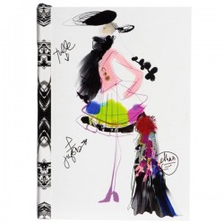 Carnet de notes Croquis de Mode Christian Lacroix