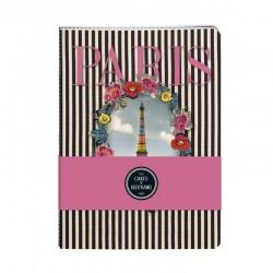 Set de 2 Cahiers Paris Les Cakes de Bertrand