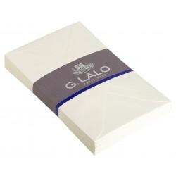 25 enveloppes C6 Vergé blanc