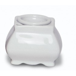 Encrier porcelaine louis XIV