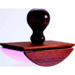 Tampon buvard en bois teinté