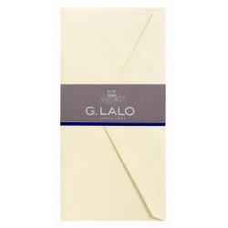 25 enveloppes DL Vergé ivoire