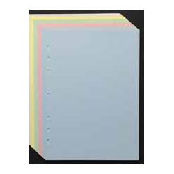 Recharge notes 4330 assorties 50F. unies pour Agenda Moderne 20 cm