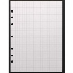 Recharge notes 4332 50F. blanches pour Agenda Moderne 20 cm