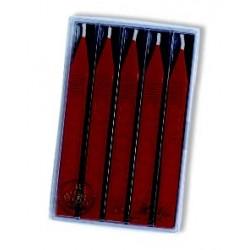 Cire favorite rouge à mèche 5 bâtons Herbin