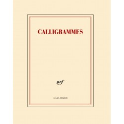 Cahier + crayon «Calligrammes» Gallimard