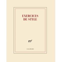 Cahier + crayon «Exercices de style» Gallimard