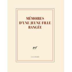 Cahier + crayon «Mémoires d'une jeune fille rangée» Gallimard