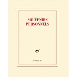 Cahier + crayon «Souvenirs personnels» Gallimard
