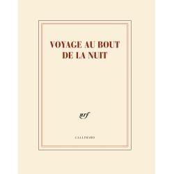 Cahier + crayon «Voyage au bout de la nuit» Gallimard