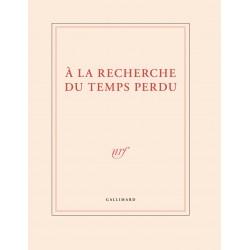 Carnet grand format «A la recherche du temps perdu» Gallimard
