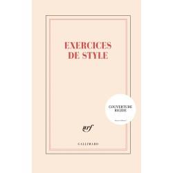 Grand Carnet rigide «Exercices de style» Gallimard