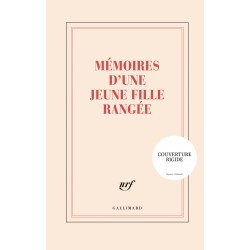 Grand Carnet rigide «Mémoires d'une jeune fille rangée» Gallimard