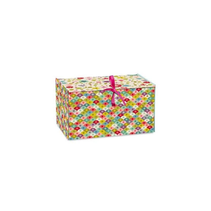 Boîte à papier Ecailles
